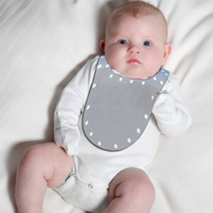 Easy Stick-On Bib