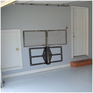 Cargo Carrier Wall Mount