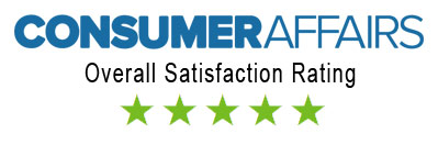 5 Star Consumer Affairs Rating